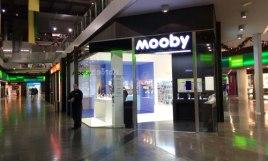 Mooby Franquicias-enseña dedicada a la comercialización de smartphones y operadoras de telefonía que no funciona como una franquicia.