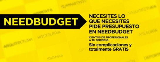 NeedBudget.com Es el portal de referencia en solicitud de presupuestos online de cualquier producto o servicio. El visitante dice lo que necesita y nuestra franquicia se lo consigue.