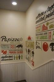 Franquicias Papizza, luz y cultura mediterranea.