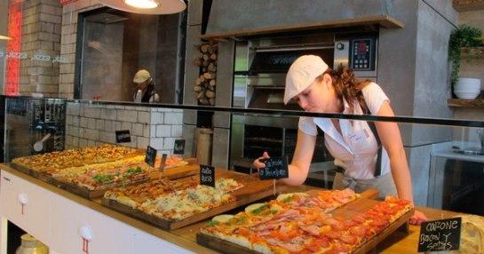 Franquicia Pizzettaro La oferta va desde desayunos, comidas, meriendas, after works, cenas
