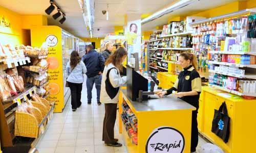 Franquicias RAPID, Franquicias EROSKI. EROSKI presentó en 2017 su nueva enseña RAPID para tiendas de conveniencia, su última innovación en formatos comerciales, modelo comercial altamente competitivo.
