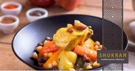 Franquicia SHUKRAN-exoticos platos libaneses