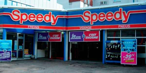 Speedy. Red de talleres de mecánica rápida multi-marca