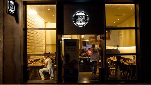 """Franquicia The Fussion. """"Street Food""""  La cadena de restaurantes se especializa en cocina internacional"""