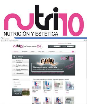 Nutri10 lanza su Tienda Online