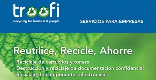 Franquicias Troofi Recycling, Destruccion Confidencial, Destruccion de documentos, Destruccion papel