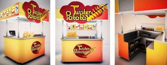 Franquicia Twister Patata. Nueva y divertida forma de preparar las mejores patatas seleccionada