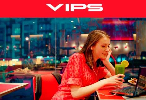 """VIPS Franquicias. Las marcas de restaurantes-cafeterías VIPS y VIPS Smart presentan hoy su nueva campaña """"A tu gusto y al momento"""". Franquicias VIPS, Franquicias Rentables, Franquicias de exito."""