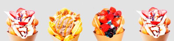 Waffle Bubble Company  Franquicias. A día de hoy nuestros Waffles se han convertido en un popular snack callejero, existiendo franquicias de éxito en Hong Kong, Tokio, Singapur, Londres y México.